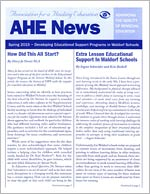 AHE News -- Spring 2015 -- Developing Educational Support Programs in Waldorf Schools