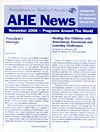 AHE News - November 2006 - Programs from Around the World