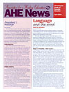 AHE News - April 2004 - Language and the Word