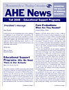 AHE News - Fall 2008 - Educational Support Programs