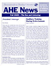 AHE News - Fall 2009 - The Ear and Listening