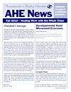 AHE News - Fall 2010 - Healing Work with the Whole Class