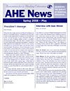 AHE News - Spring 2008 - Play