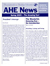 AHE News - Spring 2009 - The Wonderful, Amazing Eye: An Introduction