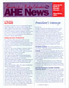 AHE News - Winter/Spring 2001 - Autism