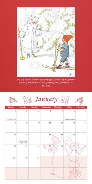 Elsa Beskow Calendar 2017 via waldorfbooks.com