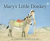 Mary's Little Donkey - Picture Book