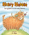 Hairy Hettie - The Highland Cow who needs a haircut! - INTRODUCTORY PRICE