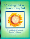 Making Math Meaningful - A 7th Grade Workbook - Teacher's Edition