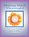 Making Math Meaningful: A 6th Grade Workbook, Teacher's Edition