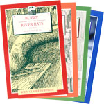 Buzzy and the River Rats, Books I-IV Special - John Clarke Hoffman - INTRODUCTORY PRICE