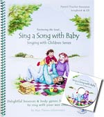 Sing a Song with Baby - Songbook & CD - Delightful bounces and body games from fingers to toes to sing with your wee ones - CLEARANCE