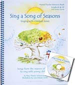 Sing a Song of Seasons - Songbook & CD - Songs from the seasons of nature to sing with young children